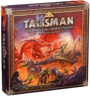 Talisman Revised 4th Edition Brettspill Grunnspillet The Magical Quest Game
