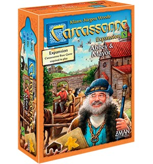 Carcassonne Abbey & Mayor Expansion Utvidelse nr 5 til Carcassonne