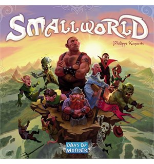 Small World Brettspill - Norske regler Grunnspillet - SmallWorld Boardgame