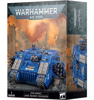 Space Marine Land Raider Crusader Warhammer 40K - Redeemer