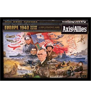 Axis & Allies Europe 1940 Brettspill 2nd Edition - Frittstående spill