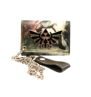 Legend of Zelda Lommebok Triforce Logo