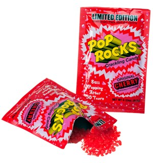 Pop Rocks med Kirsebærsmak Cherry Det originale bruspulveret!