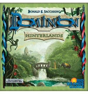 Dominion Hinterlands Utvidelse Expansion til Dominion Brettspill