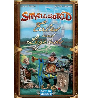 Small World Brettspill Utvidelse Tales Tales and Legends Expansion