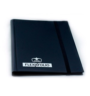 Album FlexXfolio 20 x 9-pocket Svart 360 kort Side-Loading Utlimate Guard
