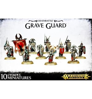 Deathrattle Grave Guard Warhammer Age of Sigmar