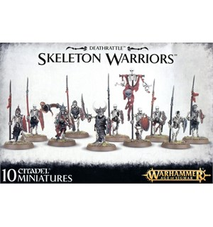 Deathrattle Skeleton Warriors Warhammer Age of Sigmar