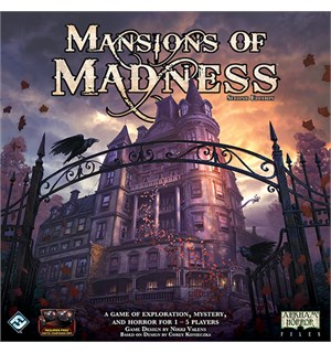 Mansions of Madness 2nd Ed. Brettspill Grunnspillet - 2nd edition