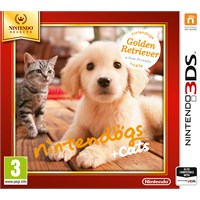Nintendogs + Cats Golden Retriever 3DS Nintendogs + Cats