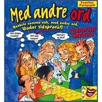 dabdca89 Med andre ord Brettspill Høylydt og tempofylt familie/partyspill ...