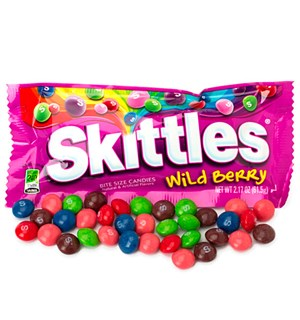 Skittles Wild Berry 61 grams pose