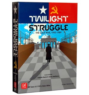 Twilight Struggle Deluxe Brettspill