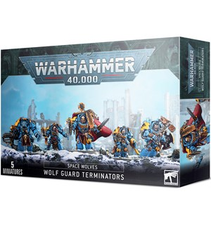 Space Wolves Wolf Guard Terminators Warhammer 40K