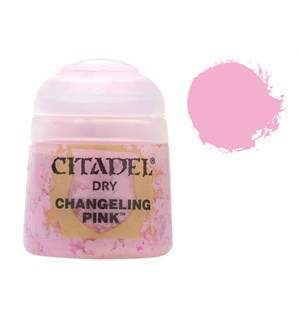 Citadel Paint Dry Changeling Pink