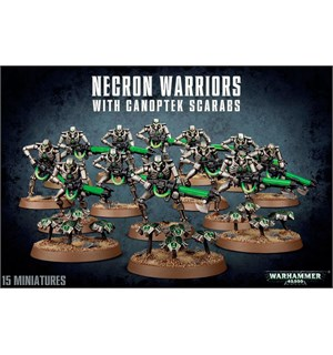 Necron Warriors With Canoptek Scarabs Warhammer 40K