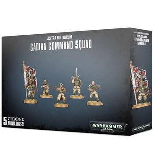 Astra Militarum Cadian Command Squad Warhammer 40K