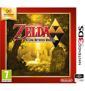 Legend of Zelda Link Between Worlds 3DS