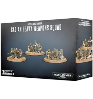 Astra Militarum Cadian Heavy Weapon Squa Warhammer 40K Squad