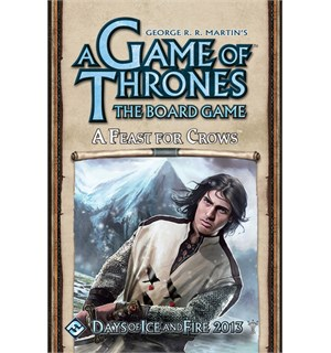 Game of Thrones A Feast for Crows Exp. Utvidelse til Brettspillet 2nd Edition