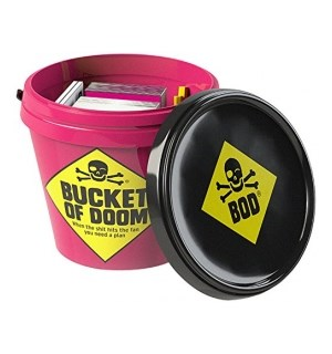 Bucket of Doom Kortspill Death Dodging Party Game