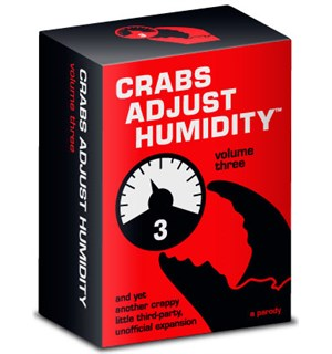 Crabs Adjust Humidity Volume Three Uoffisiell utvidelse til Cards Against