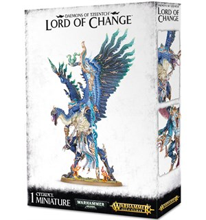 Daemons of Tzeentch Lord of Change Warhammer 40K / Age of Sigmar