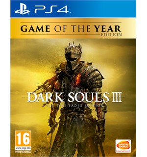 Dark Souls 3 Game of the Year Ed. PS4 The Fire Fades Edition