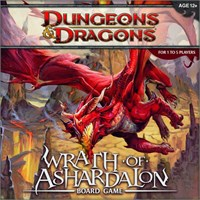 Dungeos & Dragons Wrath of Ashardalon Brettspill Dungeons & Dragons verdenen