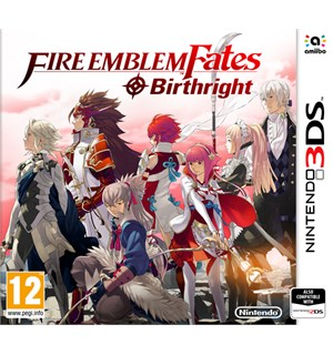 Fire Emblem Fates Birthright 3DS