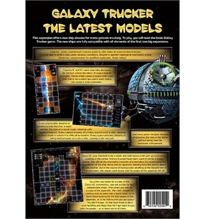 Galaxy Trucker Latest Models Expansion Utvidelse til Galaxy Trucker
