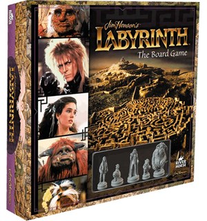 Labyrinth The Board Game - Jim Hensons