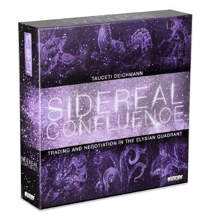 Sidereal Confluence Brettspill Trading and Negotiation Elysian Quadrant