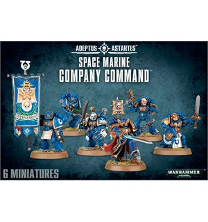 Space Marine Company Command Adeptus Astartes Warhammer 40K