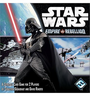 Star Wars Empire vs Rebellion Kortspill Norsk utgave
