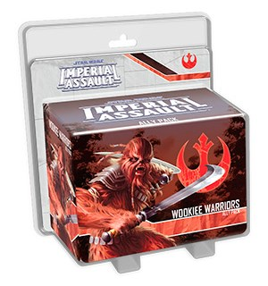Star Wars IA Wookiee Warriors Ally Pack Imperial Assault