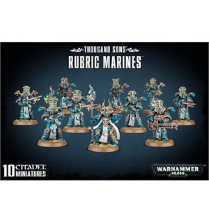 Thousand Sons Rubric Marines Warhammer 40K