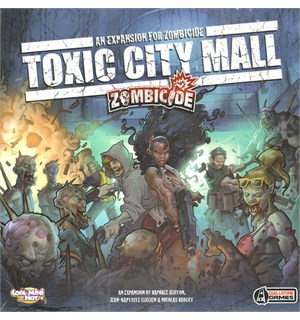 Zombicide Toxic City Mall Expansion Utvidelse til Zombicide 1  & 2