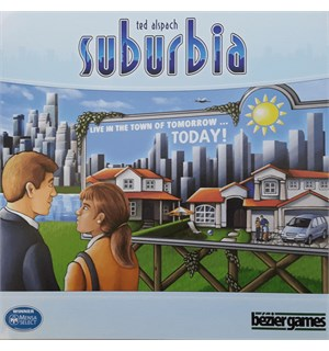 Suburbia 2nd Edition Brettspill