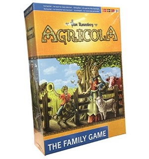 Agricola The Family Game Brettspill En lettspilt versjon for hele familien!