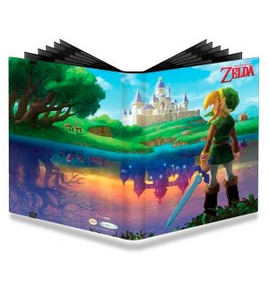 Album Zelda 20x 9 Pocket Ultra Pro 360 kort