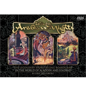 Arabian Nights Tales of the Brettspill Tales of the Arabian Night
