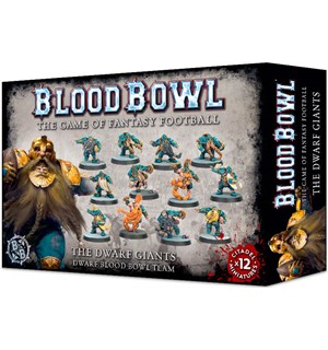 Blood Bowl Team The Dwarf Giants Dwarf Blood Bowl Team
