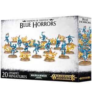 Daemons of Tzeentch Blue Horrors Warhammer 40K / Age of Sigmar