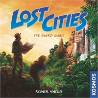 Lost Cities The Board Game Brettspill