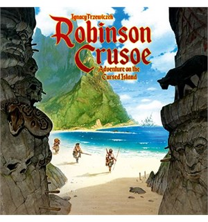 Robinson Crusoe 2nd Edition Brettspill Adventure on the Cursed Island