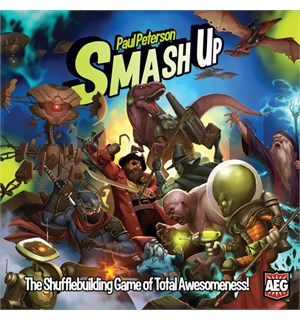 Smash Up Brettspill/Kortspill