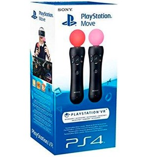 Sony Move Controller DoublePack PS4 2 Stk. Playstation Move håndkontroll