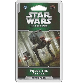 Star Wars TCG Press the Attack Expansion Utvidelse til Star Wars The Card Game