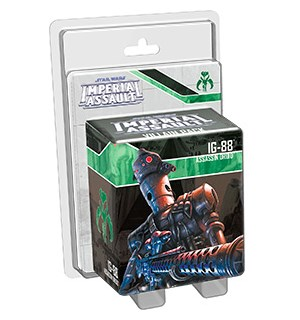 Star Wars IA IG-88 Villain Pack Imperial Assault